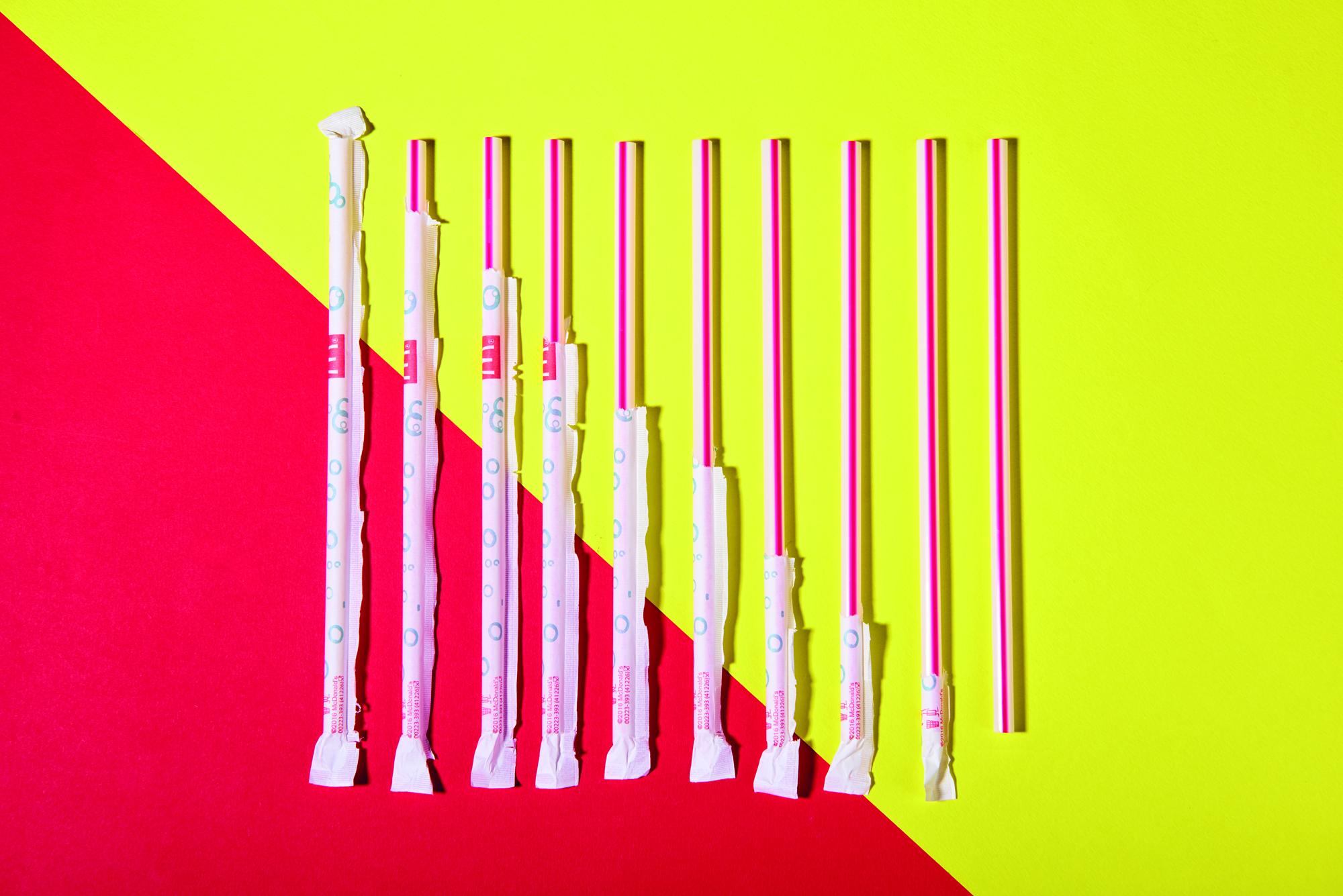 Annabel Staff McDonalds straws